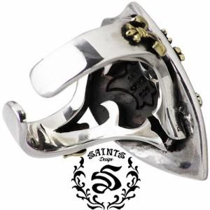 リング 指輪 メンズ レディース SAINTS セインツ シルバー 聖盾 大野智さん着用アイテム SSR8-67