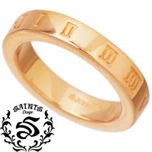 SAINTS セインツ シルバー リング 指輪 レディース メンズ NEW時空 ピンクゴールド SSR8-71-PG