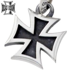 DEAL DESIGN ディールデザイン シルバー ペンダントトップ メンズ レディース アイアンクロス S 十字架 390054