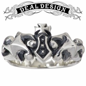 DEAL DESIGN ディールデザイン シルバー リング 指輪 メンズ レディース スクランブルクラウン 391227