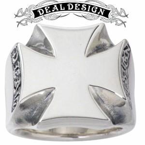 DEAL DESIGN ディールデザイン シルバー リング 指輪 メンズ レディース グラムクロス 391228