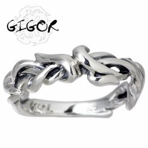 GIGOR ジゴロウ シルバー リング 指輪 メンズ レディース タングラムシリーズ NO-207