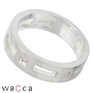 waCca ワッカ シルバー リング 指輪 レディース メンズ ダイヤモンド PCWR022WD