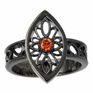 waCca ワッカ シルバー リング 指輪 レディース メンズ ヨーロピアン ブラック PNKR020BC