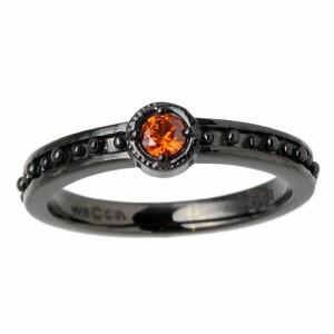 waCca ワッカ シルバー リング 指輪 レディース メンズ ヨーロピアン ブラック PNKR025BC