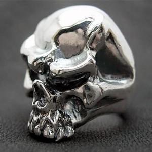 リング 指輪 メンズ DICKY & GRANDMASTER シルバー ビッグノーズスカル 髑髏ドクロ骸骨 ディッキー&グランドマスター PNSR-02