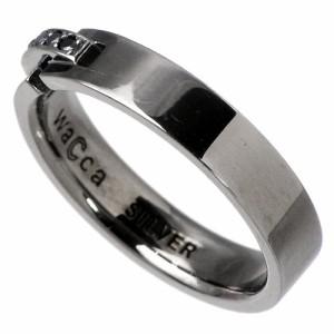 waCca ワッカ シルバー リング 指輪 ペアー キュービックジルコニア PZR002-P