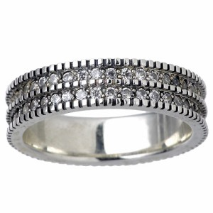 waCca ワッカ シルバー リング 指輪 レディース メンズ キュービックジルコニア PZR12