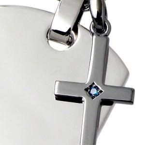 close to me クロストゥーミー シルバー ネックレス メンズ ブルーダイヤモンド SN13-039