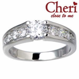 Cheri シェリ close to me シルバー リング 指輪 レディース スーパー キュービックジルコニア sv SR37-002