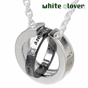 white clover ホワイトクローバー シルバー ネックレス レディース メンズ set WSPD160