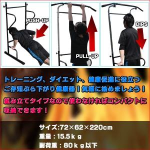 【レビュー記載で送料無料!】ぶら下がり健康器 背筋伸ばし 腹筋 懸垂 ぶらさがり健康器 ぶら下り健康器 懸垂マシン