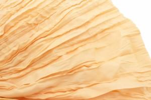 【浴衣におすすめ!簡単に結べるキッズ兵児帯?】黄色/イエロー/無地/単色/ドレープ加工/女の子向け/浴衣帯/子供向け