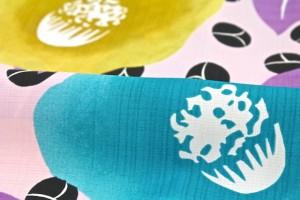 [さらさら素材東レセオアルファ☆][レトロモダンなデザインが人気のブランド【和風館】レディース浴衣]ピンク/椿/送料無料