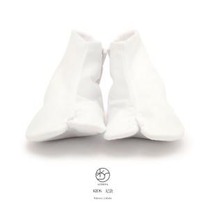 [七五三やお茶やお花のお稽古に!][珍しいコハゼ付子供用白足袋]さらし裏/ネル裏/14cm〜21cm