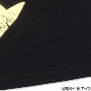 9/4NEW♪親子ペア★箔ロゴロンT-大人男女兼用レディースメンズベビードール子供服-9733A【XLあり】