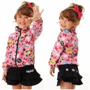 9/8NEW♪ディズニー ウインドブレ−カー-ベビーサイズ キッズ ベビードール 子供服/DISNEY-9739K