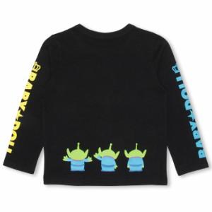 9/11NEW♪ディズニー メッセージロンT-ベビーサイズ キッズ ベビードール 子供服/DISNEY-9926K