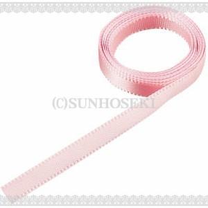 ライトピンク/細めヒモリボン1m