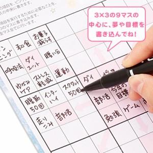 夢を叶えるノート&マス計画表1セット売り