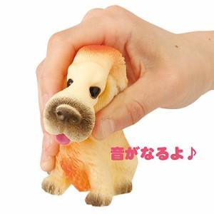 音が鳴る犬のオブジェ/1個売り