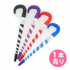 顔つきしましま傘スティックペン/1個売り