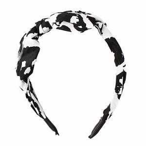 白×黒/大人リボンカチューシャ