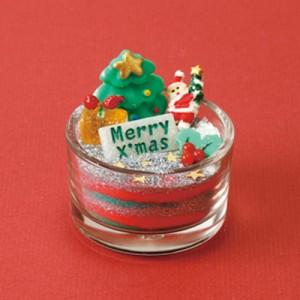 赤緑/クリスマスサンドアート手作りセット