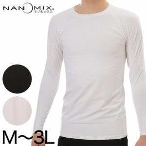 ナノミックス パワーネット メンズ 長袖Tシャツ M3L (在庫限り)