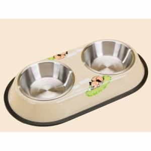 食器 犬猫兼用フードボウル 簡易自動給水 犬用品 猫用品 ペットグッズ ドッググッズ キャットグッズ  pt30394-7