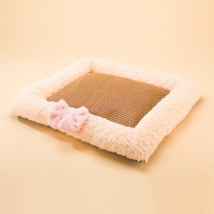 マット 竹シーツ付き 犬猫兼用 犬用品 猫用品 ペットグッズ ドッググッズ キャットグッズ  pt30456-5