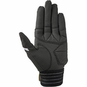 ミズノ(MIZUNO) 耐久打ち込み手袋(両手用) 1EJEA160 01 ホワイト/ブラック S