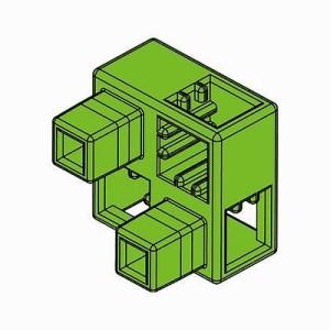 アーテック Artecブロック ハーフB 8P 黄緑 77786