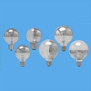 アサヒ 【まとめ買い50個セット】シルバーボール球 G50 110V10W シルバーNミラー E17 G50E17110V-10WNミラー-50SET