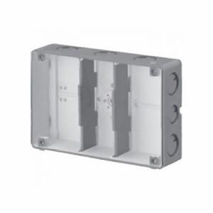 未来工業 結露防止 埋込スイッチボックス 塗代無 (3個用) CSW-3N-ODK