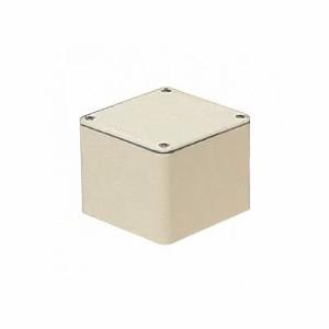 未来工業 防水プールボックス 平蓋 正方形 ノックなし 250×250×250 ミルキーホワイト PVP-2525AM