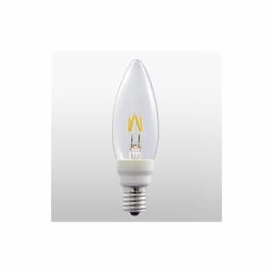 ウシオライティング ★LEDフィラメント電球 Let(シャンデリア形調光対応   E12口金仕様) LDC2L-G-E12/D8/27/3