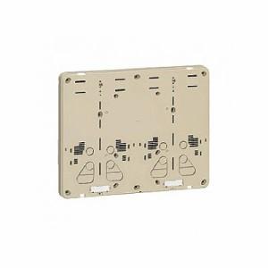 未来工業 積算電力計取付板 2個用 カードホルダー付き ダークグレー 全関東電気工事協会「優良機材推奨認定品」 B-2WDG-Z