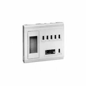 未来工業 ミライパネルMP型 単相三線式リミッタースペース 中性線欠相保護付3POC付漏電しゃ断器 露出・半埋込み兼用 回路数5+スペース数1