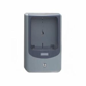 未来工業 【お買い得品 5個セット】電力量計ボックス バイザー付き 1個用 VE22・28用 グレー×スモークパープル WPN-3G_5set
