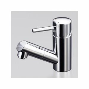 KVK(ケーブイケー) 洗面用シングルレバー式混合栓 銅管仕様 ホース引出し式 寒冷地用 泡沫吐水 LFM670シリーズ LFM670W