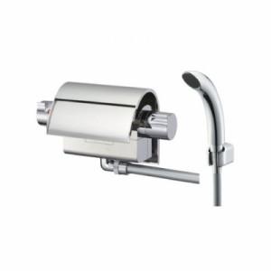 三栄水栓製作所 サーモシャワー混合栓 節水水栓 壁付混合栓 浴室用 フラット吐水 EDDIES SK2890