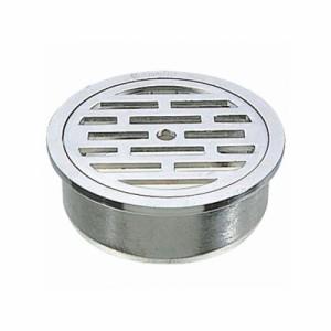 三栄水栓製作所 VU目皿 排水用品 VUパイプ用 カギ付 呼び:50 PH41-50