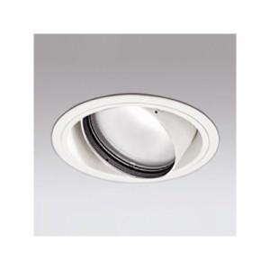 オーデリック LEDユニバーサルダウンライト M形 埋込穴φ150 CDM-T70Wクラス 高効率タイプ ミディアム配光 連続調光 本体色:オフホワイト