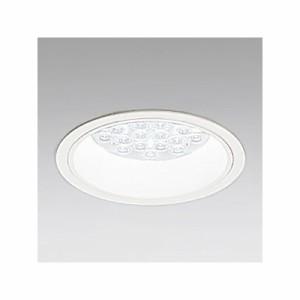 オーデリック LEDダウンライト M形 埋込穴φ150 HID100Wクラス LED24灯 配光角:65° 非調光 本体色:オフホワイト 昼白色タイプ 5000K XD2