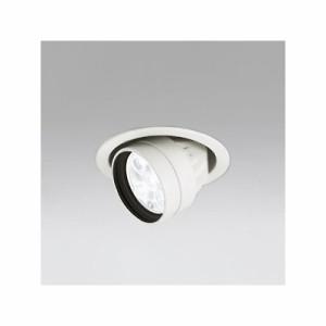 オーデリック LEDハイユニバーサルダウンライト M形 埋込穴φ100 JR12V-50Wクラス LED5灯 配光角27° 連続調光 本体色:オフホワイト 白色