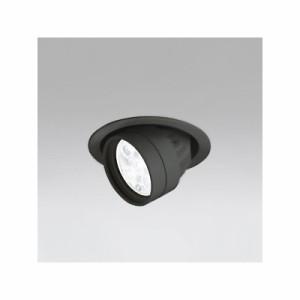 オーデリック LEDハイユニバーサルダウンライト M形 埋込穴φ100 JR12V-50Wクラス LED5灯 配光角27° 連続調光 本体色:ブラック 白色タイ