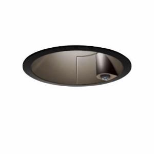 DAIKO LEDダウンライト 人感センサー付 連動ON/OFFタイプ 高気密SB形 非調光タイプ 昼白色 白熱灯60Wタイプ 防滴形 埋込穴φ125 ブラック