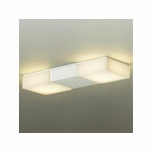 DAIKO LED小型シーリングライト 直付タイプ 白熱灯100W×2灯相当 非調光タイプ 電球色タイプ ホワイト DCL-38566Y