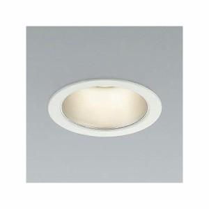 コイズミ照明 LEDベースダウンライト 防雨型 600lmクラス 白熱球60W相当 電球色(3000K) 埋込穴φ100mm 照度角65° ファインホワイト AD43
